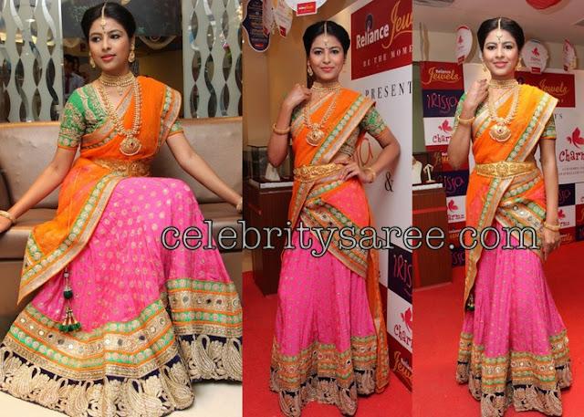 Sowmya Bella Designer Saree