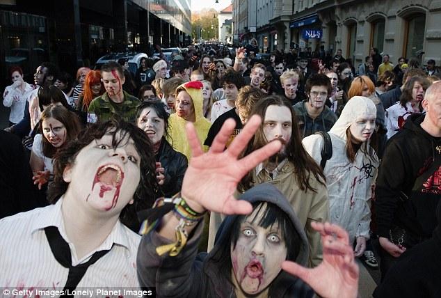 Un apocalipsis zombi barrería con la humanidad en 100 días