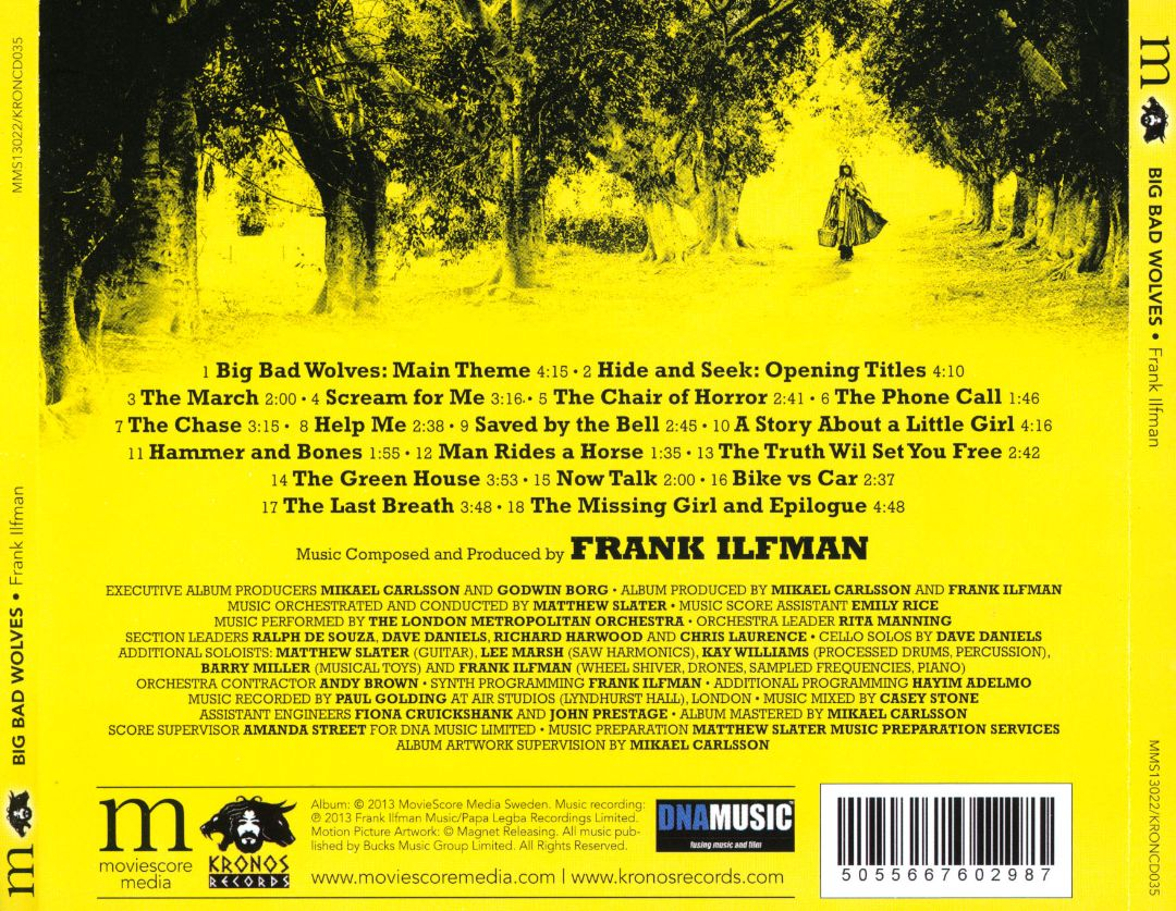 Big Bad Wolves Frank Ilfman