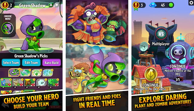 Plants vs. Zombie Heroes APK 1.4.14