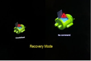 Tidak ada Perintah Pada Menu Recovery mode.