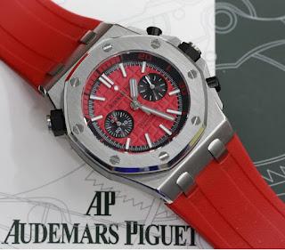 Jam Tangan Audemars Piquet Merah
