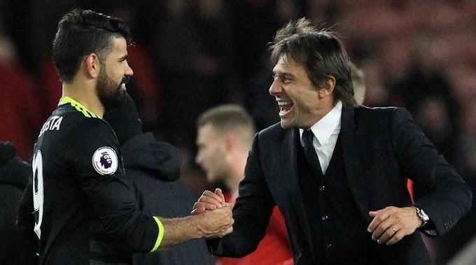 Costa can still improve, says Conte