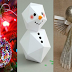 Όμορφες Χριστουγεννιάτικες ιδέες για τη διακόσμηση του σπιτιού σας (videos)