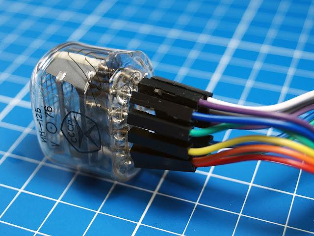 Подключение газоразрядного индикатора ИН-12Б