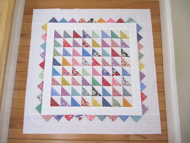 Sew Many Ways How To Make Prairie Points For Your Next