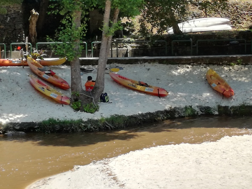 Aluguer de kayaks