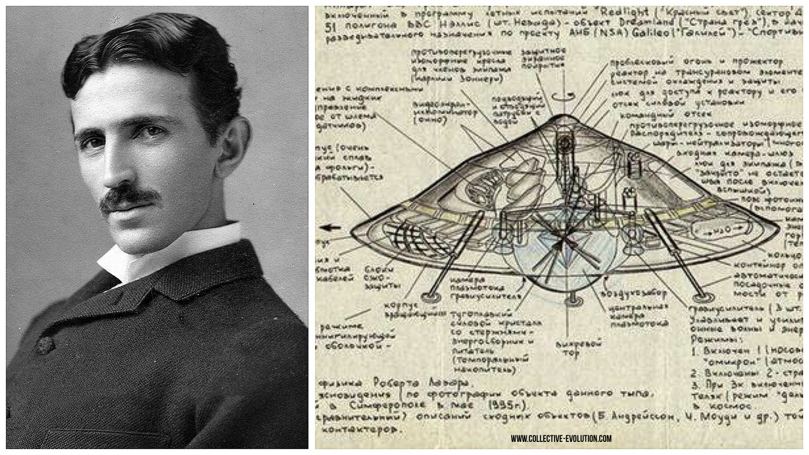 Nikola Tesla criador dos discos voadores
