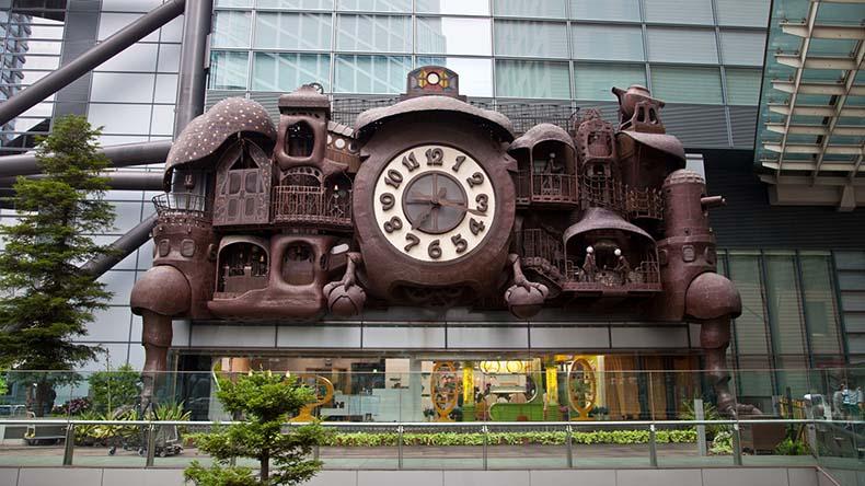 El Reloj Gigante Ghibli | Japón