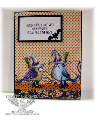 CraftyColonel Donna Nuce for Cards in Envy Challenge Blog