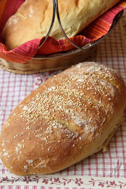 Pane di grano Kamut con semi di sesamo