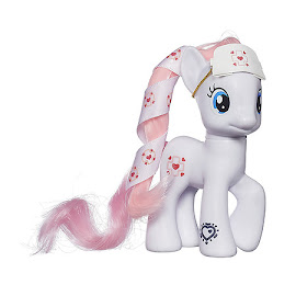 MLP Cutie Mark Magic Ribbon Hair Single Nurse Redheart Brushable Figure