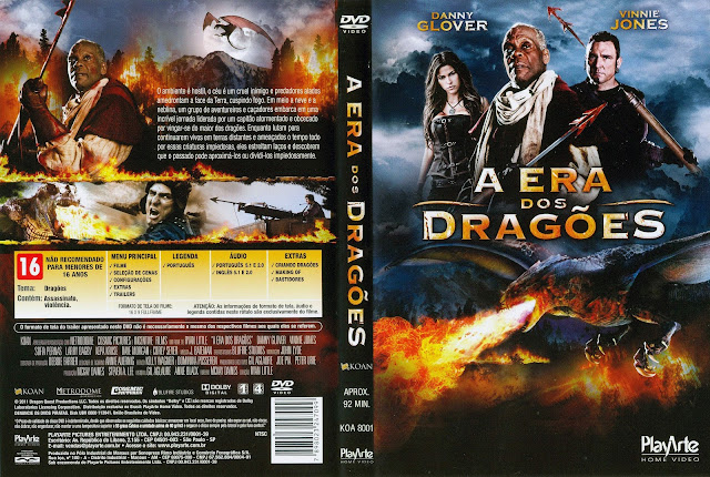 Capa DVD A Era dos Dragões
