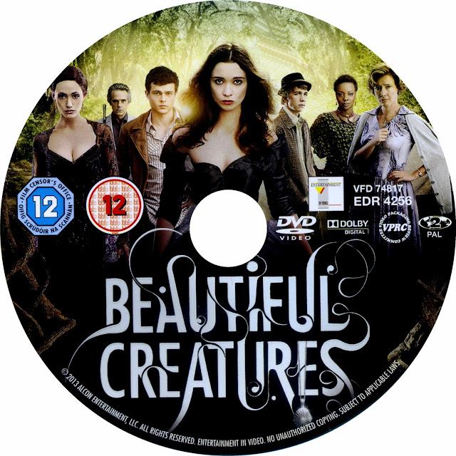 Beautiful Creatures DVD Label