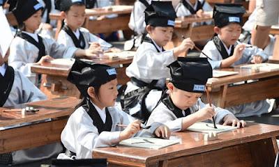 Pendidikan Tradisional China Ternyata Seperti Ini