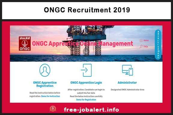 ONGC Recruitment 2019: Invited applications for the post of ONGC Oil & Natural Gas Corporation Limited 4014 Apprentice