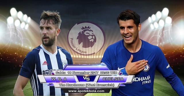 Prediksi WBA vs Chelsea 18 November 2017