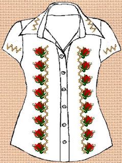 Заготовка для вишивки жіночої сорочки без рукавів (СЖБР-001)  Екстравагантна шипшина - 2 4d4940b8a1d33