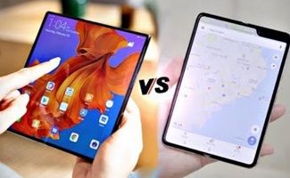 Huawei Mate X vs Samsung Galaxy Fold – FOLDABLE WAR is ON!