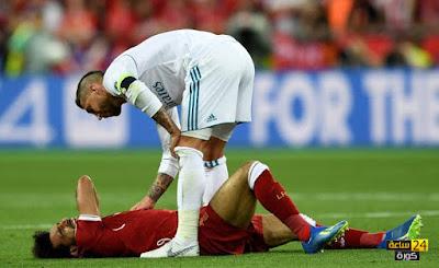 الكشف عن إصابة محمد صلاح نجم ليفربول و منتخب مصر