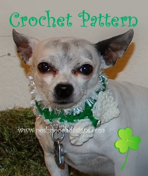 Posh Pooch Designs Dog Clothes St Patricks Day Dog Collar