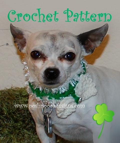 Posh Pooch Designs Dog Clothes St Patricks Day Dog Collar
