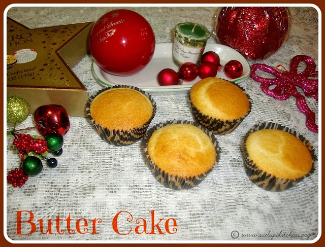 image of Butter Cake Recipe /Simple Butter Cake Recipe / Fluffy Butter Cake Recipe