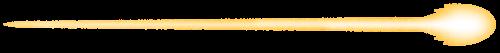 ビームのイラスト(黄色)