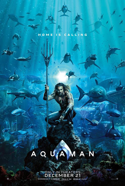 Official poster perdana film Aquaman