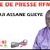 Revue de presse (Wolof) Rfm du vendredi 14 septembre 2018 par Ousmane Guèye