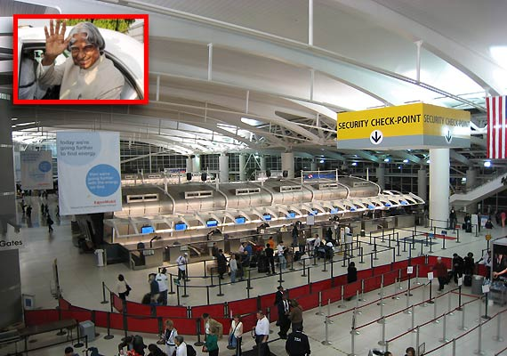 APJ KALAM Harassment at New York Airport-
