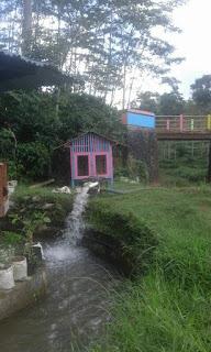 kolam pancing Unggul ulam Santoso curugsewu