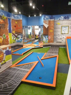 Krazy Mini Golf at Quest Merry Hill