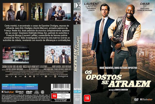 Capa DVD Os Opostos Se Atraem