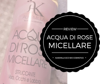 Alkemilla Eco Bio Cosmetic - Acqua di rose micellare