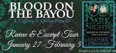 Excerpt, BLOOD ON THE BAYOU, Heather Graham, Bea's Book Nook