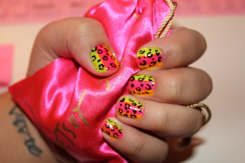 Summer Leopard Print Nail Art Collection