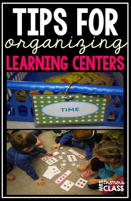 Kindergarten Learning Centers: Tips for Organization