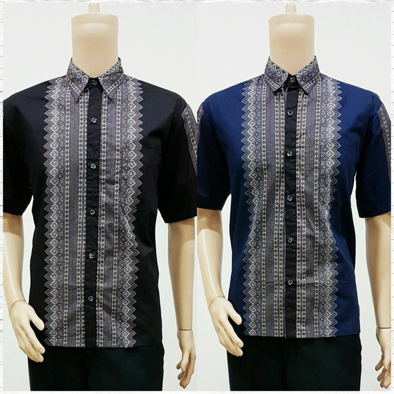 Batik Bagoes Solo Model Baju Batik Pria Lengan Pendek