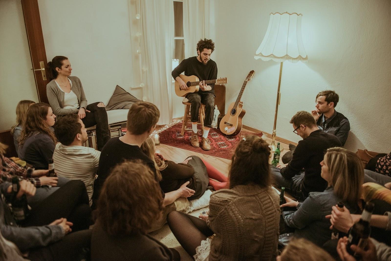 SofaConcerts 5 Reasons For Hosting A Sofa Concert