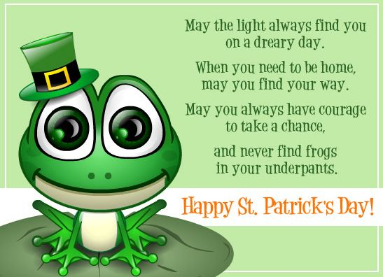 st patrick day greetings