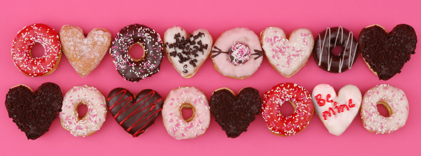 Dunkin' Donuts introduces Valentine's Day doughnut flavors