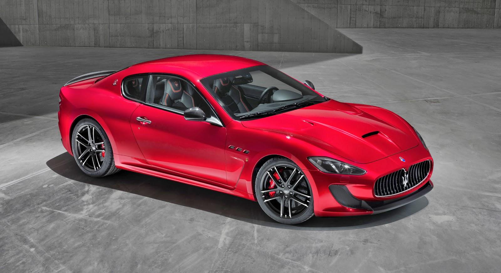 2015 Maserati GranTurismo MC Stradale Centennial - High Wheels