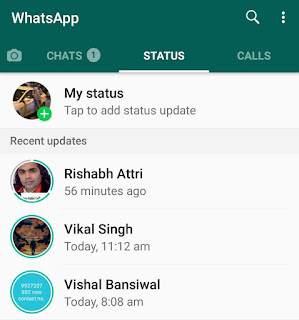 View WhatsApp status without them knowing