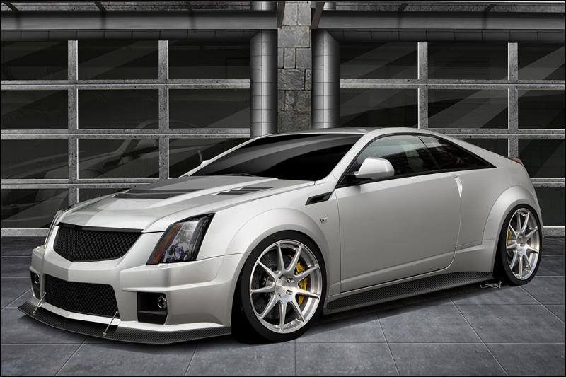 Cadillac Cts V Coupe By Hennessey