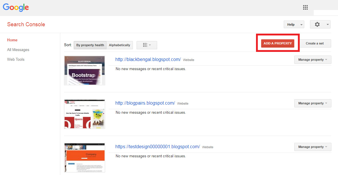 Google webmaster tools How to add sitemap