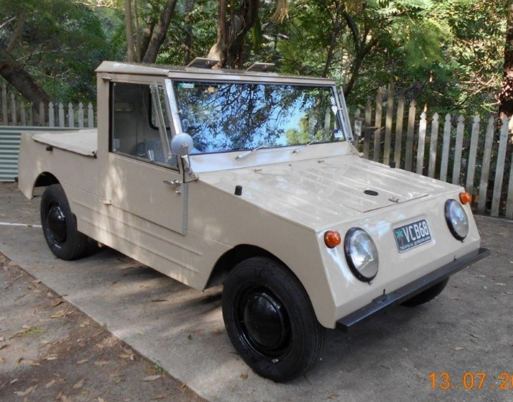 Just A Car Guy: Rare Australian Thing: 1968 Volkswagen Country Buggy
