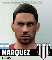 PES 6 Faces Lucas Márquez by Camarita