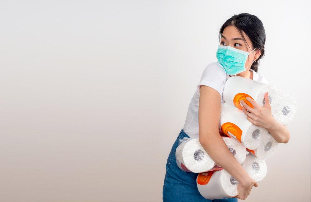 toilet paper hoarding