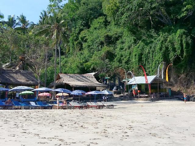 красивые  пляжи бали.White Sand beach